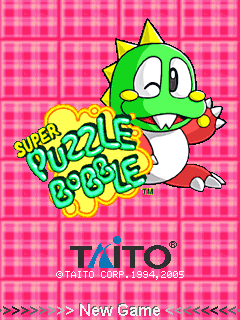 game ban bong Super Puzzle Bobble